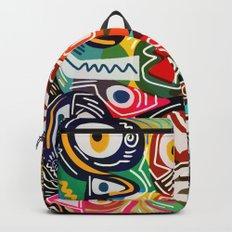 Life is beautiful street art graffiti Backpack
