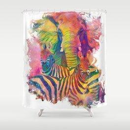 Benevolent Love Shower Curtain