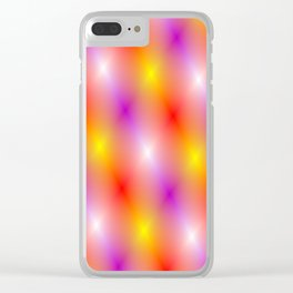 The lights of show business Clear iPhone Case
