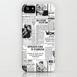 MAKING AMERICA GREAT - WOMEN'S SUFFRAGE iPhone Case
