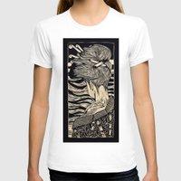 geisha T-shirts featuring Geisha by Mario Sayavedra
