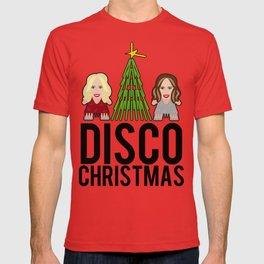 Kylie & Dannii - Disco Christmas T-shirt