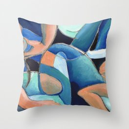 Abstract 2 Throw Pillow