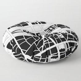 Île de la Cité. Paris Floor Pillow