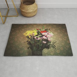 Flowers for her Rug
