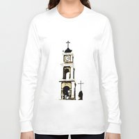 israel Long Sleeve T-shirts featuring St. Peter's Church, Jaffa, Israel by Philippe Gerber