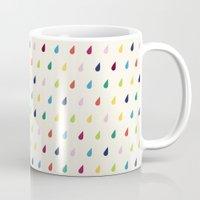 xbox Mugs featuring Raindrops by Cute Cute Cute