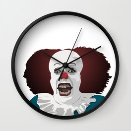 Cool party Clown Face Wall Clock