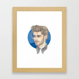 Malik Framed Art Print