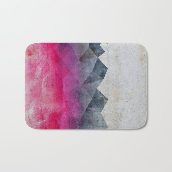 Pink Concrete Bath Mat