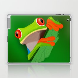 Red-eyed tree frog Laptop & iPad Skin