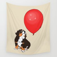 balloon Wall Tapestries featuring Balloon by Meredith Mackworth-Praed