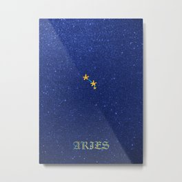 Constellations - ARIES Metal Print