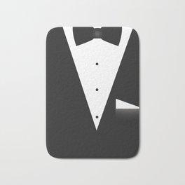Bow Tie Suit Bath Mat