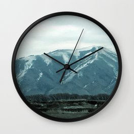 Groundhogs day Wall Clock