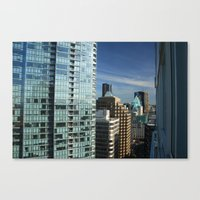 skyline Canvas Prints featuring Skyline by Chris Root