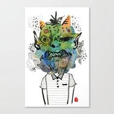 Monster me Canvas Print