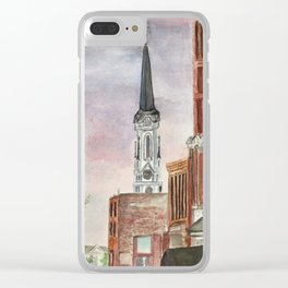 See the light Clear iPhone Case