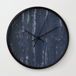 Gray-blue Wall Clock