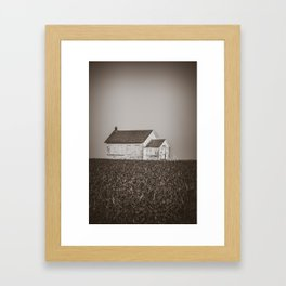 Ingersoll School, North Dakota 18 Framed Art Print