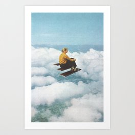 Lost In A Moment Art Print