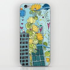 Livin' In The City  iPhone & iPod Skin