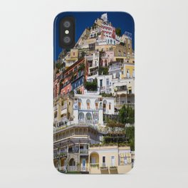 Positano Italy iPhone Case