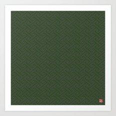 Pattern #2B Art Print
