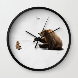Brunt (wordless) Wall Clock