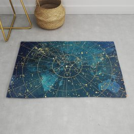Star Map :: City Lights Rug