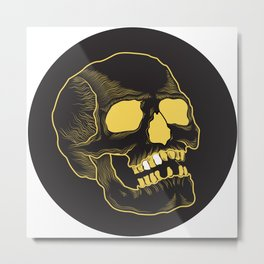 Goldie Metal Print