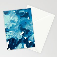 inkblot marble 11 Stationery Cards