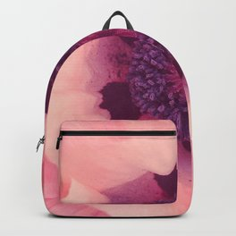 Pink tulip Backpack