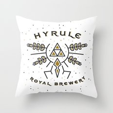 Hyrule Royal Brewery Throw Pillow