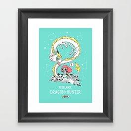 Dragon Hunter Framed Art Print