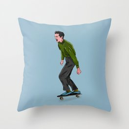Skate Vibes Throw Pillow