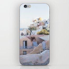 Dusk in Santorini, Greece iPhone Skin