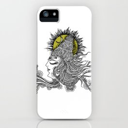 Shiva Moon iPhone Case