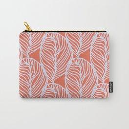 petaluma: orange leaf pattern Carry-All Pouch