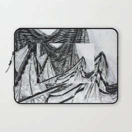Double Drapery Drawing Laptop Sleeve