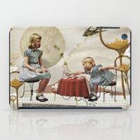 tea iPad Cases featuring tea time by Heather Landis