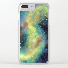 Cosmic dust Clear iPhone Case
