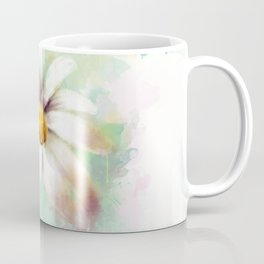 Daisy watercolor - flower illustration Coffee Mug
