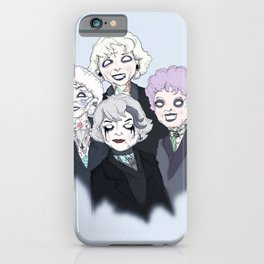 Gothic Girls iPhone Case