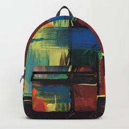 Colorful Bricks Backpack