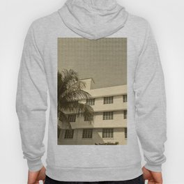 A building and a palm tree in Miami Beach Hoody
