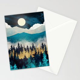 Evening Mist Stationery Cards