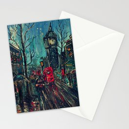 Impressionistic London  Stationery Cards