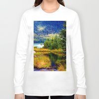 alaska Long Sleeve T-shirts featuring Alaska by KL Design Solutions