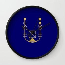 Sacred Geometry Letter U Wall Clock